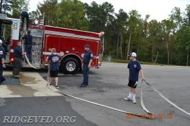 Cadets Racking hose
