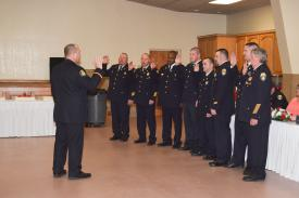 Installing Line Officers