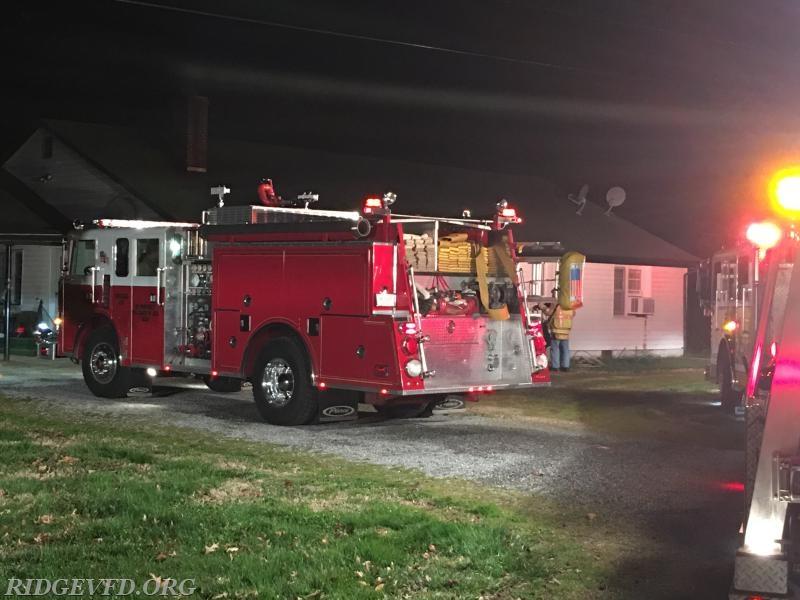Chimney Fire - Lexington Park