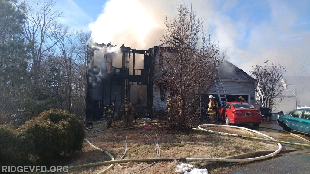 House Fire - Lexington Park
