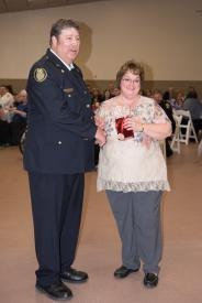 Auxiliary Member of the Year - Laura Cook