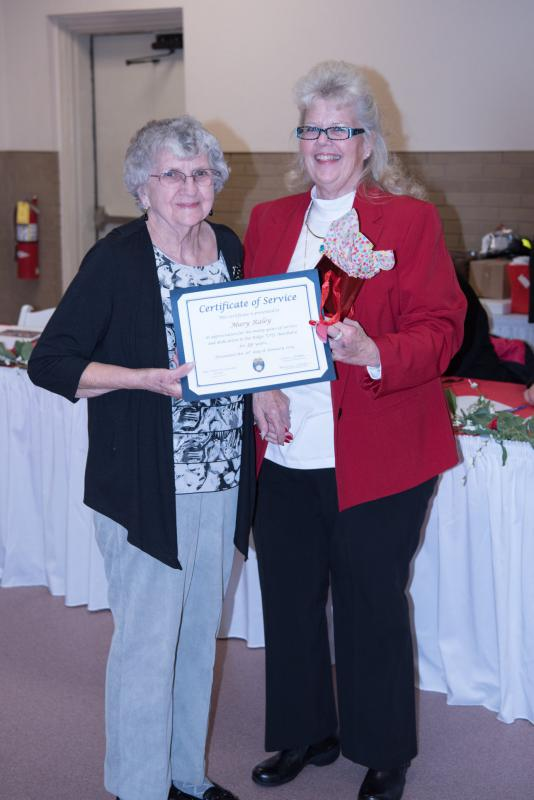 35 Years of Service - Mary Raley
