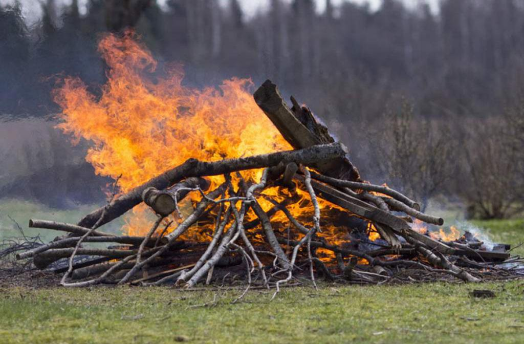 Open Air Burning