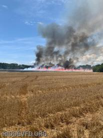 Field Fire - St. Mary's City