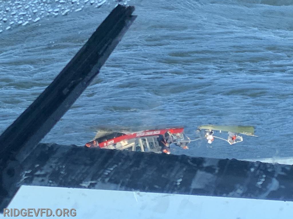 Boat Rescue - Potomac River