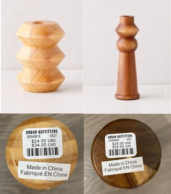 1) Margo Taper Candle Holders