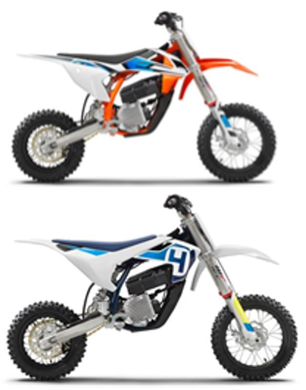 3) KTM SX-E 5 and Husqvarna EE-5 Motorcycles