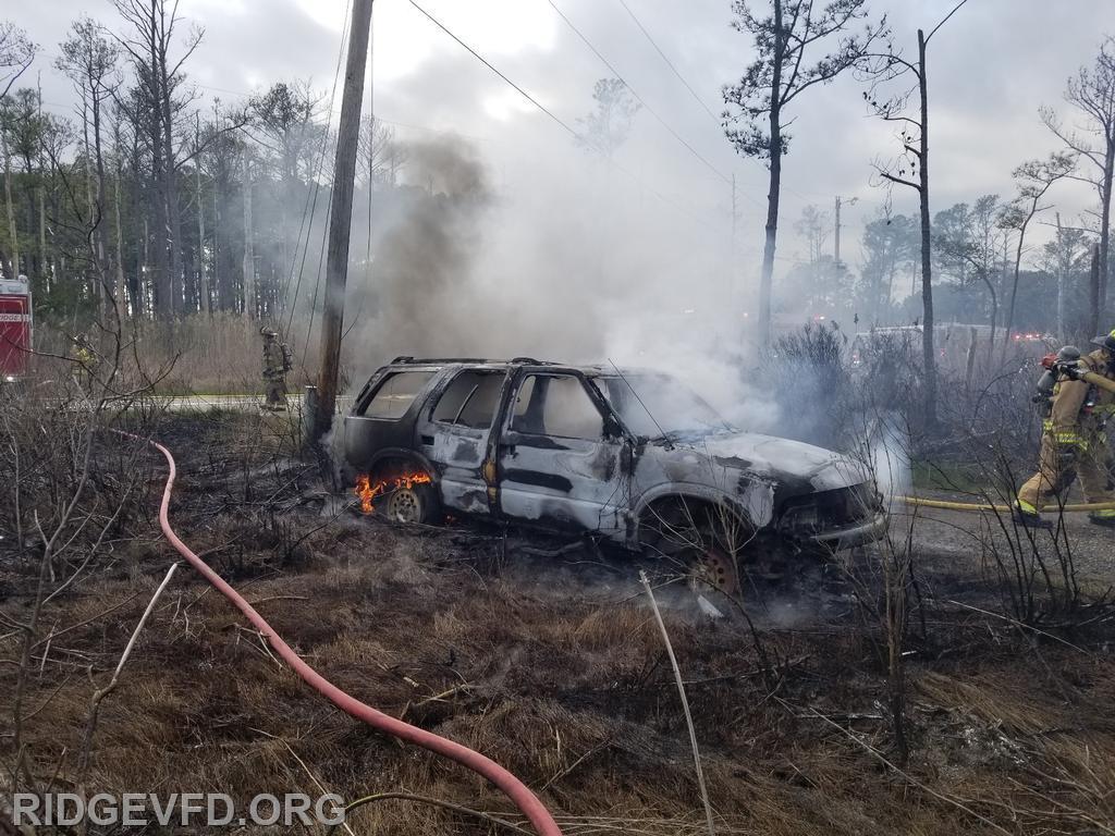 Vehicle Fire - Scotland