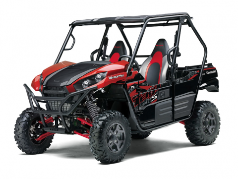 2) Kawasaki TERYX® off-highway vehicles (ROVs)