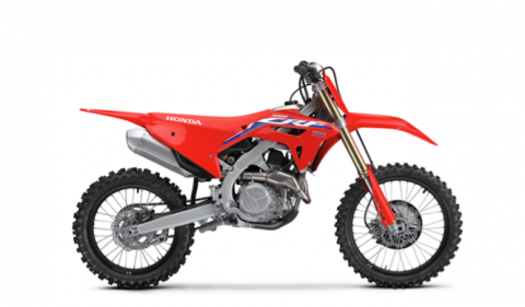 3) CRF450R Off-Road Motorcycles