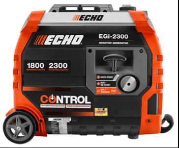 5)  ECHO EGi-2300 Watt Generators