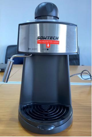 6)  SOWTECH Espresso Machines with Glass Carafes
