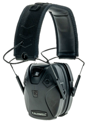 2) American Outdoor Brands Caldwell E-Max® Pro BT Earmuffs with rechargeable lithium battery packs