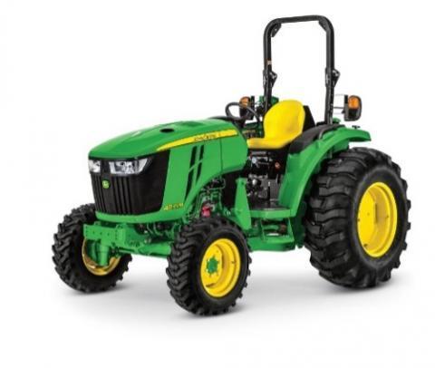 12) John Deere compact utility tractors